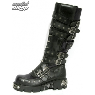 Schuhe NEW ROCK - Rivet High Boots (796-S1) Black - N-8-31-700-00