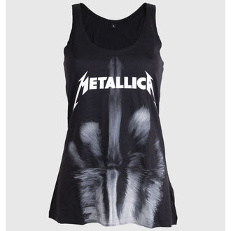Damen Tanktop METALLICA - FINGER - BLACK - LIVE NATION - PEMTL079