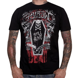 Herren T-ShirtHYRAW - Dark Coffin - Black - HY003
