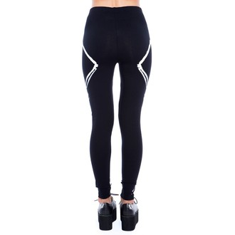 Damen Hose  (Leggings) IRON FIST - Verbunden - BLACK
