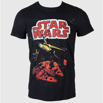 Herren T-Shirt   Star Wars - Xwing Gradient - LIVE NATION - Black - PE11685TSBP