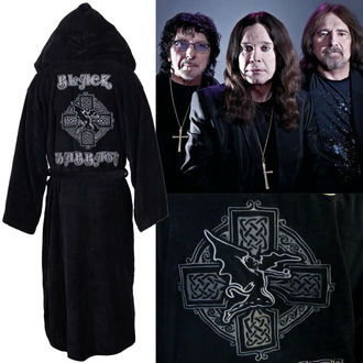 Bademantel Black Sabbath - Cross Oversized - BLACK