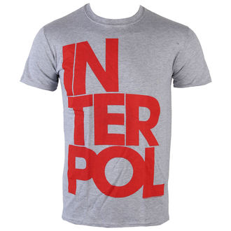 Herren T-Shirt   Interpol - Stacked Logo - PLASTIC HEAD - PH8765
