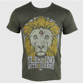 Herren T-Shirt   Sleeping With Sirens - Lion Crest - PLASTIC HEAD - PH7814