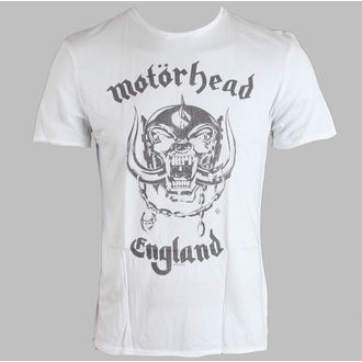 Herren T-Shirt Motörhead - England Mens - AMPLIFIED - White - AV255MHE 001