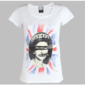 Damen T-Shirt  Sex Pistols - Queens - AMPLIFIED - AV601SPQ