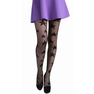 Strumpfhose PAMELA MANN - All Over Stars Sheer Tights - Black - 086
