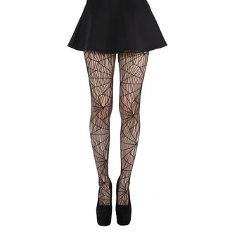 Strumpfhose PAMELA MANN - Cobweb Pattern Tights - Black - 075