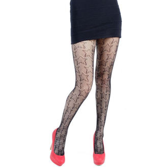 Strumpfhose PAMELA MANN - Star Net Tights - Black - 112