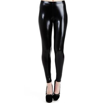 Leggings PAMELA MANN - Wet Look Leggings - Black - PM076