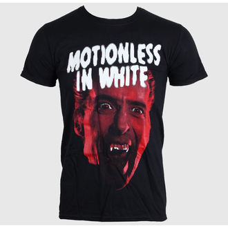 Herren T-Shirt MOTIONLESS IN WEISS - DRACULA - BLACK - LIVE NATION - 11710