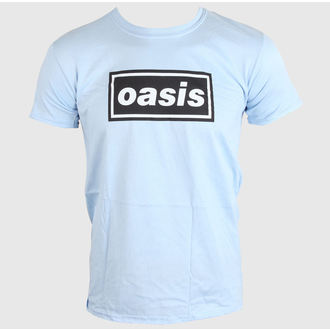 Herren T-Shirt OASIS - DEFINITELY MAYBE - SKY BLAU - LIVE NATION, LIVE NATION, Oasis