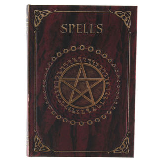 Notizblock Embossed Spell - Red - B0145A3