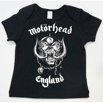 Kinder T-Shirt  Motörhead - England Toddler - ROCK OFF - MHEADTEE01TB