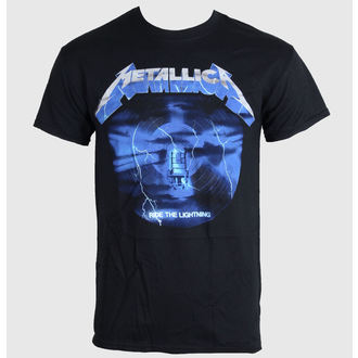 Herren T-Shirt METALLICA - RIDE THE LIGHTING 3 - BLACK - PEMTL077