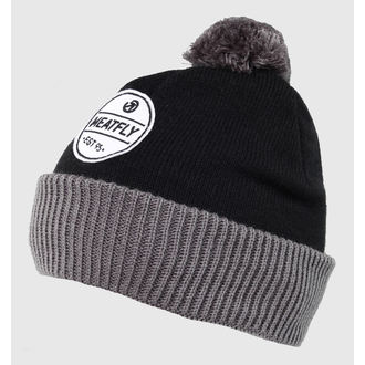 Strickbeanie  MEATFLY - WALKER - A - BLACK-GREY