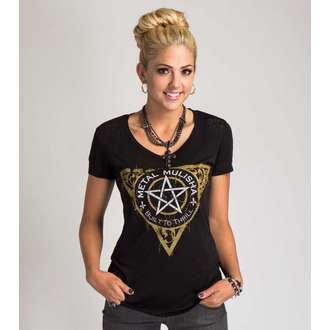 Damen T-Shirt  METAL MULISHA - THE FINEST - BLK
