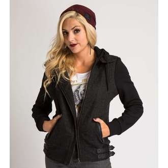 Jacke Damen METAL MULISHA - FORFEIT - BLK
