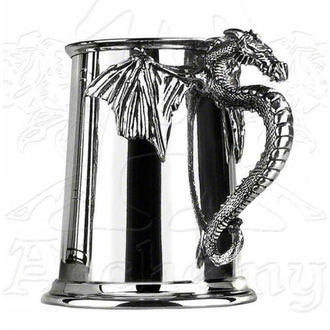 Humpen ALCHEMY GOTHIC - Silver Dragon - AAT10