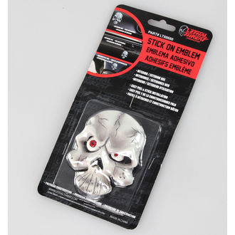 Dekoration ( Auto) LETHAL THREAT - Eyeball Skull Emblem - LT88680