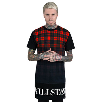 Unisex T-Shirt (Tunika) KILLSTAR - Tartan - Black