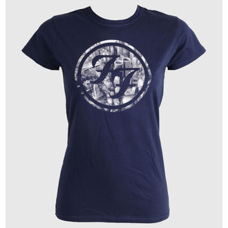 Damen T-Shirt  Foo Fighters - City Circle - LIVE NATION - PEFFI0710