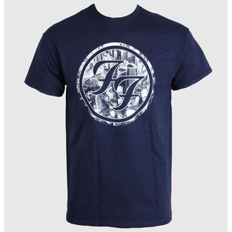 Herren T-Shirt Foo Fighters - City Circle - LIVE NATION - PEFFI0740