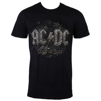 Männer Shirt AC/DC - Rock Or Bust - LIVE NATION - PE12102TSBPL