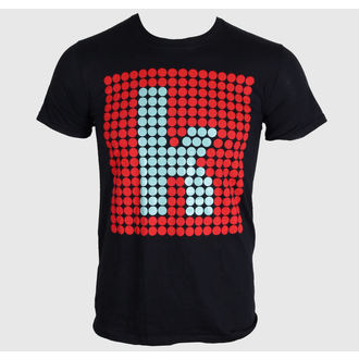 Herren T-Shirt The Killers - K Glow - Black - ROCK OFF, ROCK OFF, The Killers