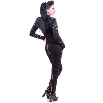 Damen Hose  NECESSARY EVIL - Ghotic - Black - N1195