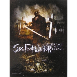 Fahne Six Feet Under - Decade In The Grave - HFL 827