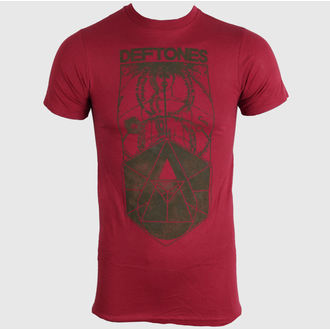 Herren T-Shirt   Deftones - Faded Diagram - Red - BRAVADO - DFT1043