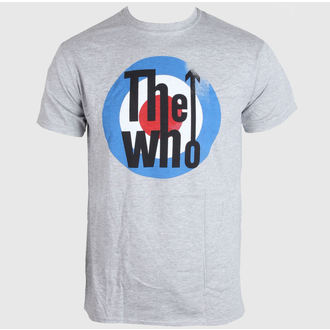 Herren T-Shirt   The Who - Target - Grey - LIVE NATION - PE11880TSCP