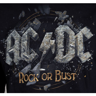 Herren Hoodie AC/DC - Rock Or Bust - Black - LIVE NATION - PEACDC4006