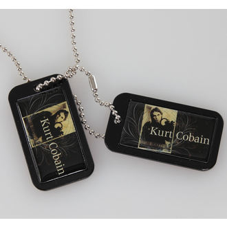 Dog Tag (Erkennungsmarke)  Kurt Cobain - Blue Crest - LIVE NATION - PE43244ACCP