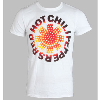 Herren T-Shirt   Red Hot Chilli Peppers - L.E.D. - White - LIVE NATION - PERHC018