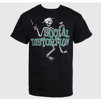 Herren T-Shirt   Social Distortion - Letterman Skully - BRAVADO - SCD1019