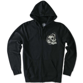 Herren Zip Hoodie METAL MULISHA - ESTABLISHED - BLK