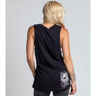 Damen Tanktop METAL MULISHA - DANI G FOUNTAINS - BLK
