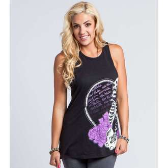 Damen Tanktop METAL MULISHA - PURE POETRY - BLK