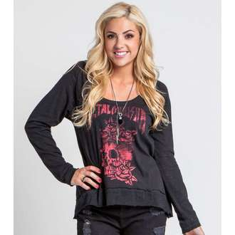 Damen Langarmshirt  METAL MULISHA - GOOD RIDDANCE - BLK