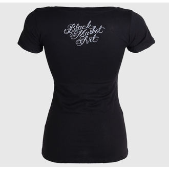 Damen T-Shirt  BLACK MARKET - Adi - Light House - BM149