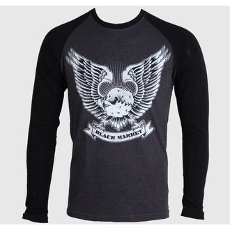 Herren Langarmshirt  BLACK MARKET - Adi - Mighty Eagle - BM118