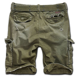 Herren Shorts  Brandit - Shell Valley Heavy Vintage - Oliv - 2015/1