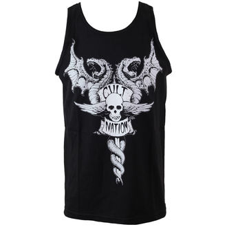 Herren Tanktop CVLT NATION - Doom Town - Black - CVL050