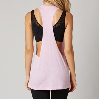 Damen Tank-Top FOX - Headset - Sweet Pea