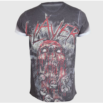 Herren T-Shirt   Slayer - War Painted Blood - ROCK OFF - SLAYPSB02