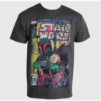 Herren T-Shirt   STAR WARS - Boba Blast Fotl - Charcoal - LIVE NATION - PE11885