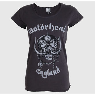 Damen T-Shirt  AMPLIFIED - Motorhead - England - Charcoal - ZAV601MHE