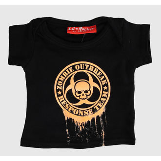 Kinder T-Shirt  LIL ROCKER - Black - DS0401